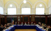 20131004 ROMA-POLITICA: LA GIUNTA PER LE ELEZIONI DEL SENATO VOTA LA DECADENZA DI BERLUSCONI