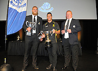 2016 Wellington Rugby Union Awards at Te Papa in Wellington, New Zealand on Saturday, 29 October 2016. Photo: Dave Lintott / lintottphoto.co.nz