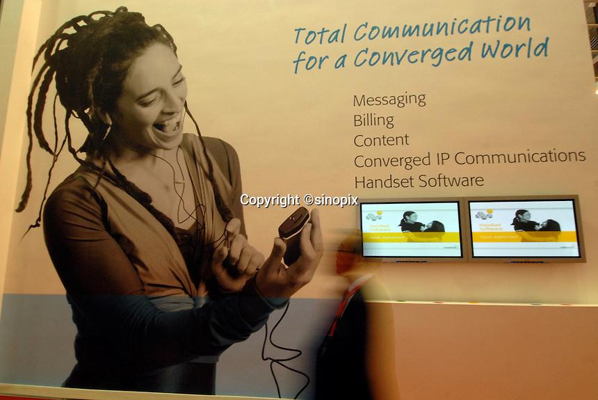 ITU Telecom World 2006 held at AsiaWorld-Expo in Hong Kong, China..