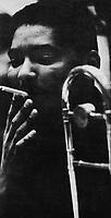 Jimmy Cleveland, trombonist.