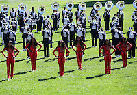 The Tennessee State Marching Band performs on the South Lawn of the White House during a reception in honor of the opening of the Smithsonian National Museum of African American History and Culture September 22, 2016, Washington, DC.<br /> Credit: Aude Guerrucci / Pool via CNP /MediaPunch