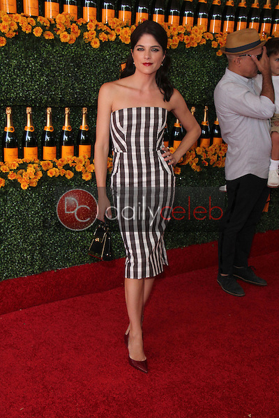 Selma Blair<br /> at the Sixth-Annual Veuve Clicquot Polo Classic, Will Rogers State Historic Park, Pacific Palisades, CA 10-17-15<br /> David Edwards/Dailyceleb.com 818-249-4998