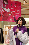 "October 4, 2017, Tokyo, Japan - Japanese actress Riisa Naka attends the opening of her designed shop at the Isetan department store in Tokyo on Wednesday, October 4, 2017.  Riisa Naka collaborated with a brand of ""Candy Stripper"" and will open a pop-up store untill October 17.   (Photo by Yoshio Tsunoda/AFLO) LWX -ytd-"