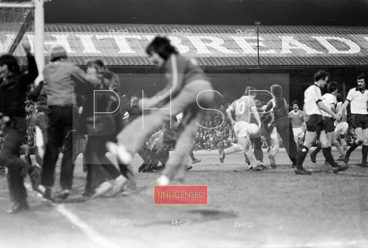 23/03/79 Blackpool v Shrewsbury Division 3..The good old days when fans could celebrate with the their heroes without being carted off and banned for three years....© Phill Heywood.