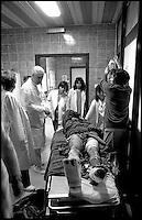 Balkan War: Stepped on a mine, rescue in hospital, Zadar, Croatia 1993