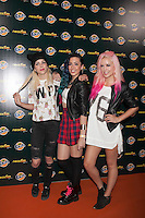 Sweet California poses during Neox Fan Awards ceremony photocall in Madrid, Spain. October 08, 2014. (ALTERPHOTOS/Victor Blanco)