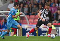 Sam Jones of Grimsby Town during Grimsby Town vs Coventry City, Sky Bet EFL League 2 Football at Blundell Park on 12th August 2017