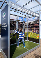 Batak Rugby Challenge. The Clash, Aviva Premiership match, between Bath Rugby and Leicester Tigers on April 7, 2018 at Twickenham Stadium in London, England. Photo by: Matt Impey / Wired Photos for Onside Images