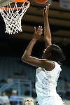 25 November 2012: North Carolina's Waltiea Rolle. The University of North Carolina Tar Heels played the UNC Asheville Bulldogs at Carmichael Arena in Chapel Hill, North Carolina in an NCAA Division I Women's Basketball game. UNC won the game 101-42.