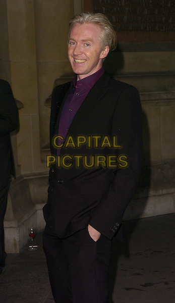 PHILLIP TREACY.The Robinson Valentine Fashion Show Gala, Victoria & Albert Museum, London, England, June 26th 2006..half length V&A designer philip.Ref: CAN.www.capitalpictures.com.sales@capitalpictures.com.©Can Nguyen/Capital Pictures