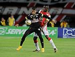 El Once Caldas se impuso un gol por cero al Santa Fe en el estadio Nemesio Camacho 'El Campín' de Bogotá, este miércoles por la noche en uno de los partidos que cerró la fecha 9 del Torneo Apertura Colombiano 2015.