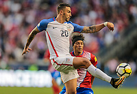 Harrison, N.J. - Friday September 01, 2017:   Geoff Cameron during a 2017 FIFA World Cup Qualifying (WCQ) round match between the men's national teams of the United States (USA) and Costa Rica (CRC) at Red Bull Arena.