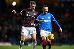 03.04.2019 Rangers v Hearts: Conor Shaughnessey and Eros Grezda