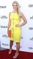 BEVERLY HILLS, CA, USA - JUNE 28: Miss Finland 2013 - Lotta Hintsa arrives at the Genlux Magazine Summer 2014 Issue Release Party held at the Luxe Hotel on June 28, 2014 in Beverly Hills, California, United States. (Photo by Xavier Collin/Celebrity Monitor)