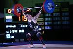 Kazuma Gonda, <br /> MAY 21, 2016 - Weightlifting : <br /> All Japan Weightlifting Championship 2016 Men's -56kg <br /> at Yamanashi Municipal Gymnasium, Yamanashi, Japan. <br /> (Photo by AFLO SPORT)