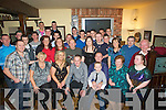 18TH: A great night for Daniel Kerins of Tralee who celebrated his 18th Birthday in Nancy Myles Bar on Saturday night with family and friends (Daniel is seated 3rd from left).......