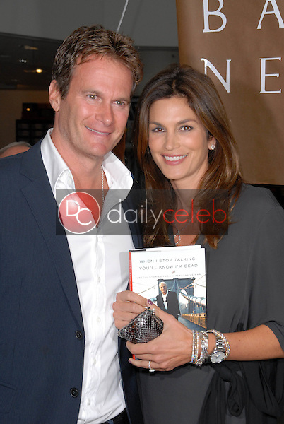 Rande Gerber and Cindy Crawford<br /> at a celebration of Jerry Weintraub's New Book &quot;When I Stop Talking You'll Know I'm Dead,&quot; Barney's New  York, Beverly Hills, CA. 05-18-10<br /> David Edwards/Dailyceleb.com 818-249-4998
