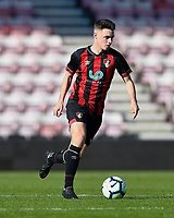 Jake Cope of AFC Bournemouth during AFC Bournemouth Under-21 vs Liverpool Under-21, Premier League Cup Football at the Vitality Stadium on 24th February 2019