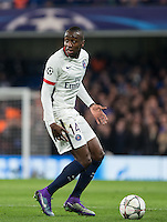 Blaise Matuidi of Paris Saint-Germain during the UEFA Champions League Round of 16 2nd leg match between Chelsea and PSG at Stamford Bridge, London, England on 9 March 2016. Photo by Andy Rowland.