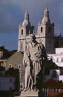 Portugal, Kirche und Denkmal Sao Vicente in Lissabon