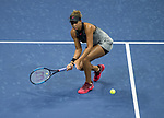 August 29,2017:  Madison Keys (USA) defeated Elise Martens (BEL) 6-3, 7-6, at the US Open being played at Billy Jean King Ntional Tennis Center in Flushing, Queens, New York.  ©Leslie Billman/CSM