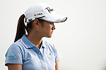 CHON BURI, THAILAND - FEBRUARY 16:  Ai Miyazato looks on during day one of the LPGA Thailand at Siam Country Club on February 16, 2012 in Chon Buri, Thailand.  Photo by Victor Fraile / The Power of Sport Images