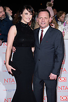 Emma Barton &amp; Perry Fenwick at the National Television Awards 2018 at the O2 Arena, Greenwich, London, UK. <br /> 23 January  2018<br /> Picture: Steve Vas/Featureflash/SilverHub 0208 004 5359 sales@silverhubmedia.com