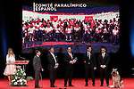 Spanish Paralympic Committee during 37 Sport Gala - National Sports Awards 2017. March 6,2017. (ALTERPHOTOS/Acero)