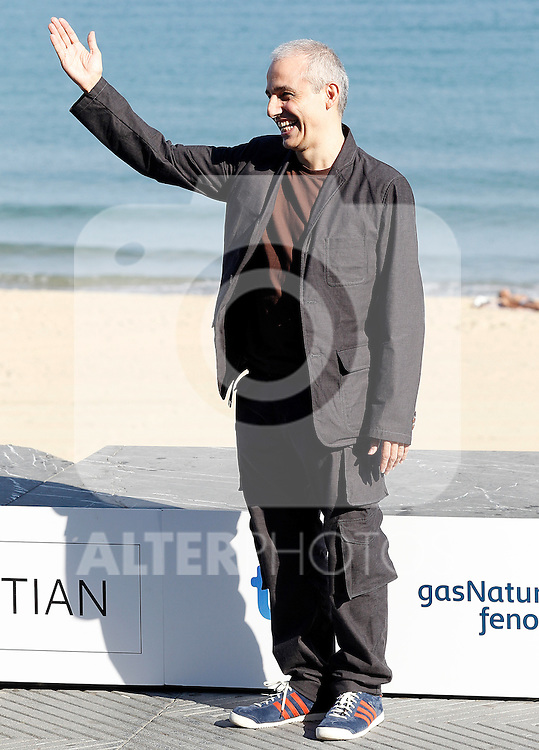 Film Director Pablo Berger attend the photocall of 'Blancanieves' during the 60th San Sebastian Donostia International Film Festival - Zinemaldia.September 22,2012.(ALTERPHOTOS/ALFAQUI/Acero)