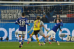 08.12.2018, Veltins-Arena, Gelsenkirchen, GER, 1. FBL, FC Schalke 04 vs. Borussia Dortmund, DFL regulations prohibit any use of photographs as image sequences and/or quasi-video<br /> <br /> im Bild Strafraumszene . Torchance von Raphael Guerreiro (#13, Borussia Dortmund) <br /> <br /> Foto © nordphoto/Mauelshagen