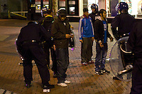 Birmingham 2011, Looting, August Riots, Police Kettle and City Lockdown,