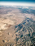 Railroad Valley & the Grant Range, Nye Co., Nev. USA Fly-over County-from the window seat of Southwest #1882 from SMF to DAL, September 2016