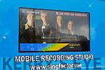 Gaelcholaiste TY Student on Radio Training Workshops on Monday were l-r Gearoid O Beolain,  Sean Ó Galbháin , Carie ni Dhubhlainn Caoimhanímh Ó Ragha
