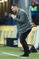 07.02.2015, Coface Arena, Mainz, GER, 1. FBL, 1. FSV Mainz 05 vs Hertha BSC, 20. Runde, im Bild Pal Dardai (Hertha BSC Berlin), Emotionen, Freisteller // during the German Bundesliga 20th round match between 1. FSV Mainz 05 and Hertha BSC at the Coface Arena in Mainz, Germany on 2015/02/07. EXPA Pictures © 2015, PhotoCredit: EXPA/ Eibner-Pressefoto/ Neis<br /> <br /> *****ATTENTION - OUT of GER***** <br /> Football Calcio 2014/2015<br /> Bundesliga Germania<br /> Foto Expa / Insidefoto