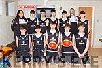 The St Pauls team that played St Brendans in the U16 final at the Kerry basketball finals in Killarney on Saturday