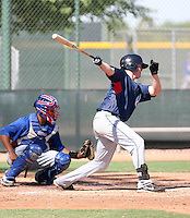 Chase Burnette - Cleveland Indians - 2010 Instructional League.Photo by:  Bill Mitchell/Four Seam Images..