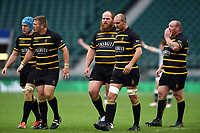 Cornwall players look on. Bill Beaumont County Championship Division 1 Final between Cheshire and Cornwall on June 2, 2019 at Twickenham Stadium in London, England. Photo by: Patrick Khachfe / Onside Images