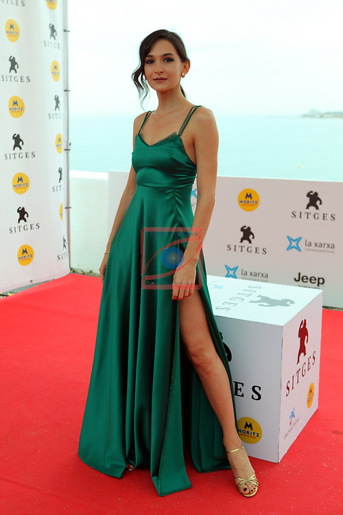 52 FESTIVAL INTERNACIONAL DE CINEMA FANTASTIC DE CATALUNYA. SITGES 2019.<br /> The Cleaning Hour-Photocall.<br /> Ana Aridou.