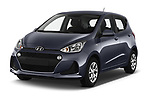 2019 Hyundai i10 Twist 5 Door Hatchback Angular Front automotive stock photos of front three quarter view