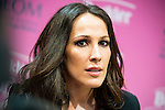 """Singer Malu attends to the presentation of the solidarity project """"Carretera y Manta"""" at West Park Studios, Madrid, Spain. June 19, 2015.<br />  (ALTERPHOTOS/BorjaB.Hojas)"""