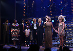"""Phyllida Lloyd, Tina Turner, Adrienne Warren and cast during the """"Tina - The Tina Turner Musical"""" Opening Night Curtain Call at the Lunt-Fontanne Theatre on November 07, 2019 in New York City."""