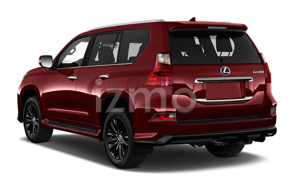 Car pictures of rear three quarter view of 2020 Lexus GX - 5 Door SUV Angular Rear