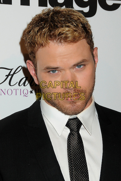 "KELLAN LUTZ.Premiere of ""Love, Wedding, Marriage"" held at The Pacific Design Center in Beverly Hills, California, USA..May 17th, 2011.headshot portrait black white facial hair stubble beard.CAP/ADM/BP.©Byron Purvis/AdMedia/Capital Pictures."
