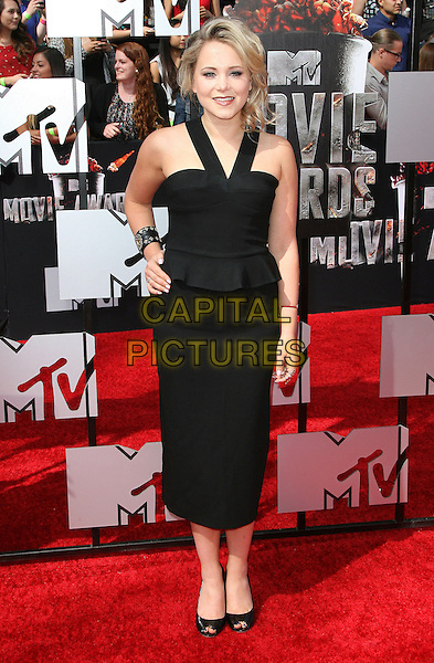 13 April 2014 - Los Angeles, California - Poppy Jamie. 2014 MTV Movie Awards held at Nokia Theatre L.A. Live. <br /> CAP/ADM<br /> &copy;AdMedia/Capital Pictures