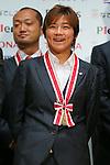 Shinobu Ono (Leonessa), November 13, 2012 - Football / Soccer : Plenus Nadeshiko LEAGUE 2012 Award ceremony in Tokyo, Japan. (Photo by Yusuke Nakanishi/AFLO SPORT).