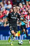 Pablo Sarabia Garcia of Sevilla FC in action during the La Liga 2017-18 match between Atletico de Madrid and Sevilla FC at the Wanda Metropolitano on 23 September 2017 in Wanda Metropolitano, Madrid, Spain. Photo by Diego Gonzalez / Power Sport Images