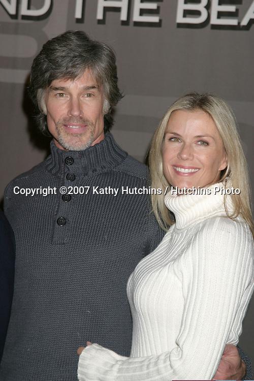 Ronn Moss & Katherine Kelly Lang.Bold & the Beautiful Celebrates 5000 Shows.CBS Television City.Los Angeles, CA.January 23, 2007.©2007 Kathy Hutchins / Hutchins Photo.