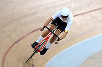 Archie Martin of Waikato BOP competes in the U17 Boys Sprint race  at the Age Group Track National Championships, Avantidrome, Home of Cycling, Cambridge, New Zealand, Friday, March 17, 2017. Mandatory Credit: © Dianne Manson/CyclingNZ  **NO ARCHIVING**
