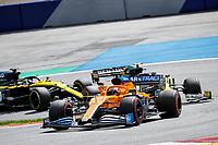 12th July 2020; Styria, Austria; FIA Formula One World Championship 2020, Grand Prix of Styria race day; FIA Formula One World Championship 2020, Grand Prix of Styria,  55 CarlSainz ESP, McLaren F1 Team