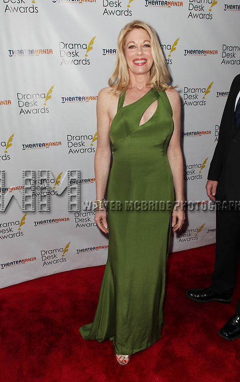 Marin Mazzie pictured at the 57th Annual Drama Desk Awards held at the The Town Hall in New York City, NY on June 3, 2012. © Walter McBride